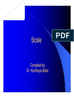 Concept of Scale