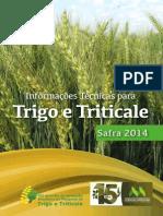 Trigo Triticale Liv Ro 2014