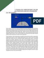 Penggunaan Teknologi Vibroseismic Dalam Meningkatkan Produksi Minyak