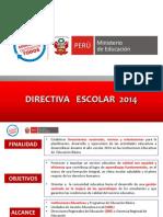 Directiava Inicio Del Año Escolar 2014