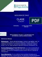 Clase Geologia