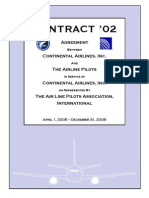 Airline Pilots Contract