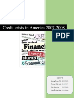 [Group 1] Credit Crisis in USA Ed4