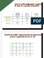 16379682 Formule de Calcul Poligoane Regulate Formule de Calcul Prescurtat