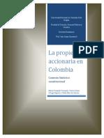 Trabajo Final - La Propiedad Accionaria en Colombia