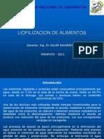 Tecnologia de La Liofilizacion