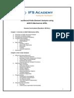 Advanced Finite Element Analysis Using ANSYS Mechanical APDL