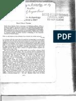 Thomas Nonsite Sampling in Archaeology 1975