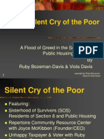 Silent Cry of the Poor