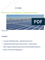 Rooftop Solar PV - Addressing Policy, Regulatory and Operational Barriers - Mr. Subhranshu Patnaik
