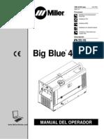 Miller Blue 400 Manual de Usuario