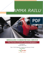 Bengaluru Commuter Rail - Promise of Growth Beyond Bengaluru