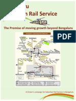 Bengaluru Suburban Rail Promise Brochure