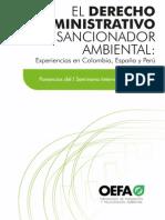 Derecho Administrativo Sancionador Ambiental