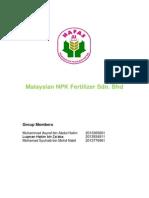 Malaysian NPK Fertilizer Sdn