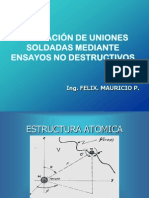 Evaluación de Uniones Soldadas Mediante Ensayos No Destructivos