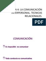 Tema Comunicacion Interpersonal Sc