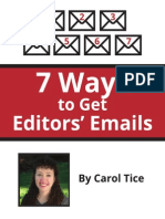 7 Ways to Get Editors Emails
