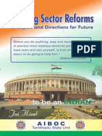 Banking Sector Reforms - Retrospect and Directions for Future