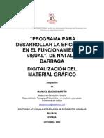 """Imagenes Libro Items de Valoracion Pvd Programa Par Desarrollar La Eficiencia en El Funcionamiento Visual"""", De Natalie Barraga Digitalización Del"""