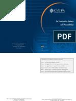 CNIPA La normativa italiana sull'accessibilità