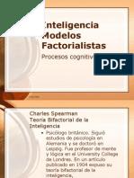 Inteligencia modelos factoriales
