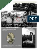 Memoria Final Curso 2012-13_claret