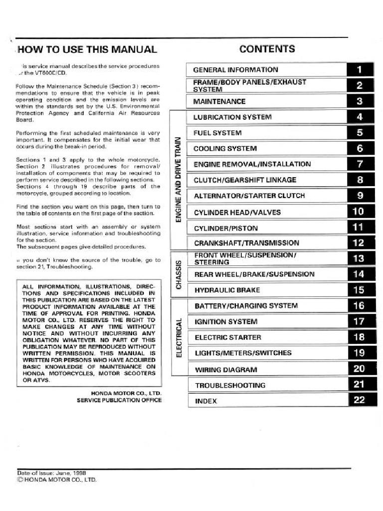 Vlx Manual Exhaust Gas Carburetor Vt750dc Wiring Diagram