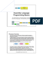 Basic Assembly Language Programming Concepts