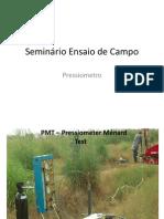 Seminário Ensaio de Campo