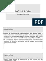 AAC Inibitórias