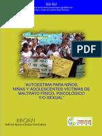 Autoestima Para Ninos Manual 0
