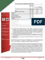 1Q 2013 Press Release ESP