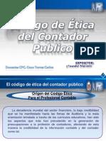 Codigo de Etica Del Cpcc