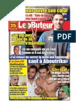 LE BUTEUR PDF du 25/11/2009