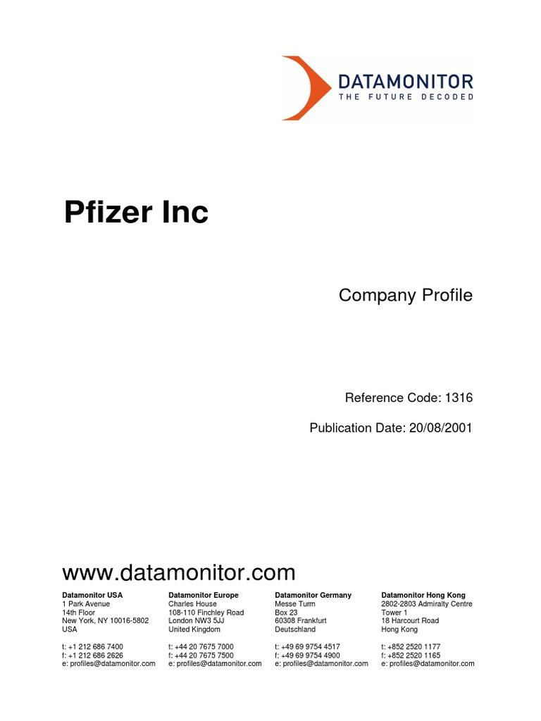 Pfizer SWOT | Pfizer | Pharmaceutical Drug