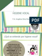 Higiene Vocal Clase