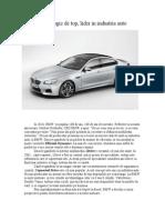 Tehnologie de Top BMW
