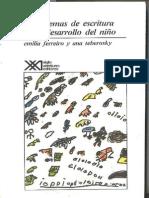 Los Sistemas de Escritura en El Desarrollo Del Nino