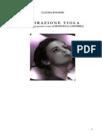 Claudia Ruggeri Ispirazione Viola1