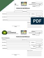 Ficha de Matricula