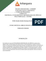 Atps Fundamentos e Metodologia de Ciências (1)