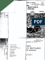 Alberto M. Salas - Para Un Bestiario de Indias