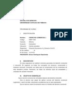 Apunte No 1 Historia Generalidades y Actos de Comercio