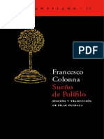 117189198 Sueno de Polifilo