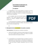 Proyecto Sistema Gestión de Laboratorios Version3