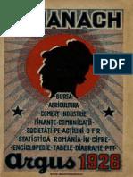 Almanah Argus 1926