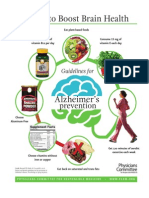 7 tips for Alzheimer's prevention