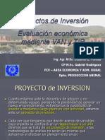 Conceptos básicos de Proyectos, VAN y TIR.ppt