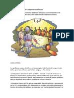 Causas Externas e Internas de La Independencia Del Paraguay